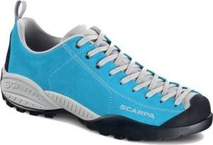 Niebieskie buty trekkingowe Scarpa