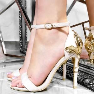 Sandały Wilady na wysokim obcasie na szpilce
