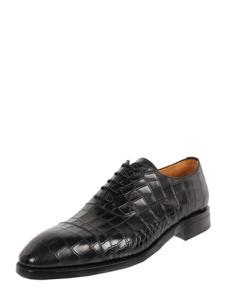 Czarne buty Berwick sznurowane
