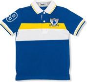 Niebieska koszulka dziecięca Ombre Clothing