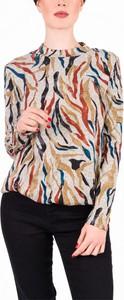 Sweter Vertus z nadrukiem w stylu casual
