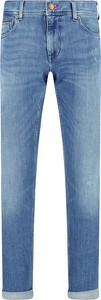 Niebieskie jeansy Tommy Hilfiger w stylu casual