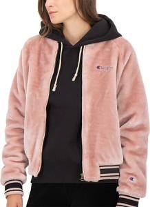 Różowa kurtka Champion z plaru