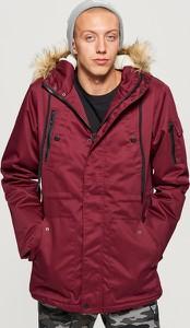 Czerwony płaszcz męski Cropp