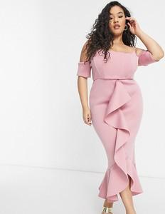 Różowa sukienka True Violet Plus