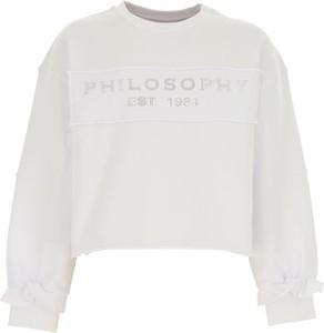 Bluza dziecięca Philosophy di Lorenzo Serafini z bawełny