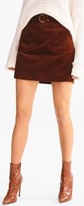 Czerwona spódnica YESSICA z bawełny