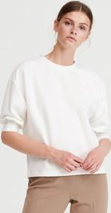 Bluzka Reserved z długim rękawem w stylu casual ze skóry ekologicznej