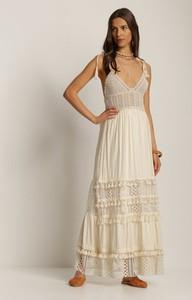 Sukienka Renee trapezowa bez rękawów maxi