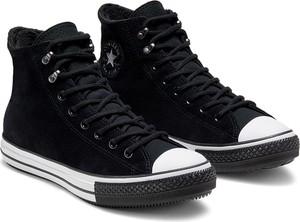 Converse czarne trampki skórzane CTAS Winter Gore-Tex Black/White