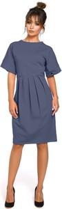 Sukienka Be z krótkim rękawem midi