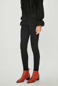 Czarne jeansy Broadway z bawełny