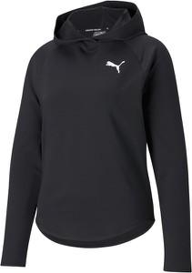 Czarna bluza Puma krótka