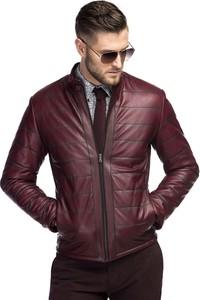 57f1acb9fbac7 Czerwone kurtki męskie, kolekcja wiosna 2019