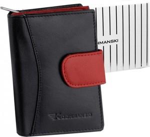 Czarny portfel Kochmanski Studio Kreacji®