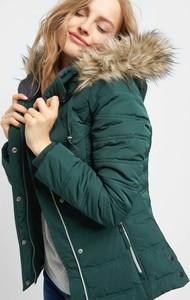 Zielona kurtka ORSAY w stylu casual z tkaniny