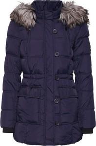 Niebieski płaszcz Only w stylu casual