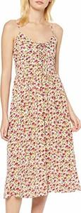 Sukienka amazon.de z okrągłym dekoltem na ramiączkach w stylu casual