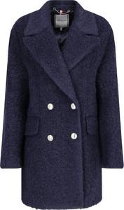 Płaszcz Tommy Hilfiger w stylu casual z wełny