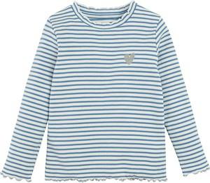 Bluzka dziecięca Cool Club w paseczki z tkaniny z długim rękawem