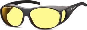 Stylion Żółte Okulary z Polaryzacją HD Fit Over dla Kierowców, na Okulary Korekcyjne FO1i