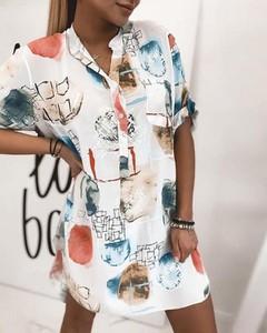Sukienka Kendallme z długim rękawem mini koszulowa