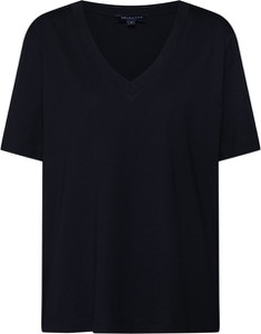 Czarna bluzka Selected Femme w stylu casual