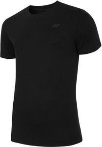 Czarna koszulka 4F z bawełny