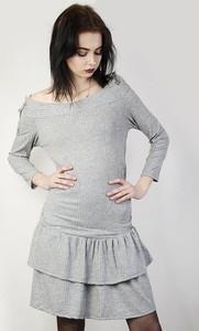 Sukienka Olika mini w stylu casual z okrągłym dekoltem