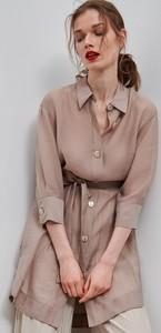 Brązowa tunika Reserved w stylu casual