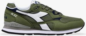Zielone buty sportowe Diadora