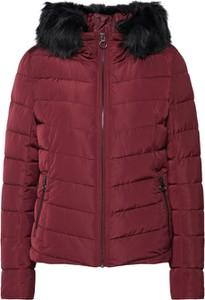 Czerwona kurtka Only w stylu casual krótka