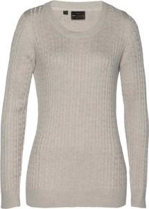 Sweter bonprix bpc selection premium z kaszmiru w stylu casual