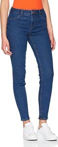 Granatowe jeansy new look