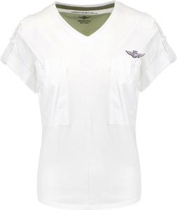 T-shirt Aeronautica Militare z bawełny