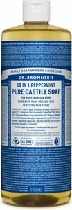Dr. Bronner`s Dr. Bronner's Pure-Castile Liquid Soap Peppermint | Naturalne mydło w płynie 945ml - Wysyłka w 24H!