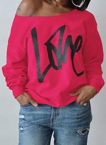 Różowa bluza Sandbella w młodzieżowym stylu