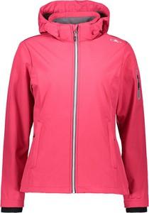 Różowa kurtka CMP z plaru krótka w stylu casual