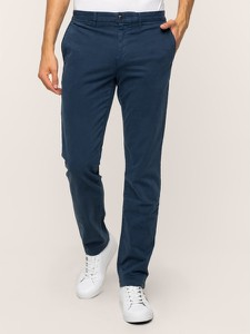 Granatowe spodnie Tommy Hilfiger