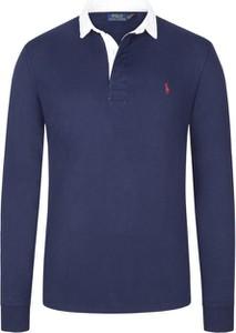 Niebieska bluza POLO RALPH LAUREN z bawełny