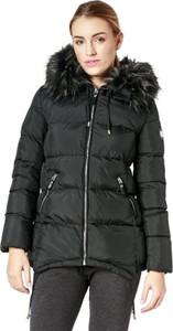 Czarna kurtka Feewear w stylu casual długa