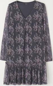 Granatowa sukienka Mohito mini