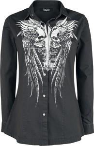 Koszula Emp z bawełny z kołnierzykiem w stylu casual