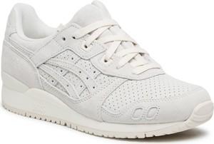 Buty sportowe ASICS sznurowane z zamszu