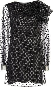Sukienka Alberta Ferretti z długim rękawem