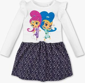 Sukienka dziewczęca C&A z bawełny
