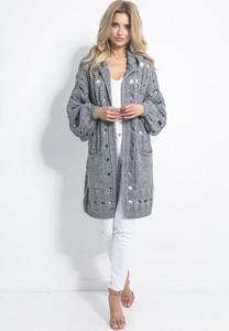 Sweter Fobya w stylu casual z dzianiny
