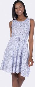 Sukienka Giorgio Di Mare z okrągłym dekoltem mini