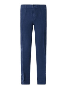 Granatowe spodnie Hugo Boss