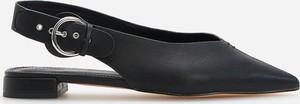 Czarne baleriny Reserved w stylu casual